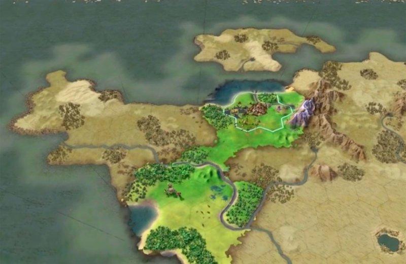 карта земли Civilization 6 скачать - фото 6