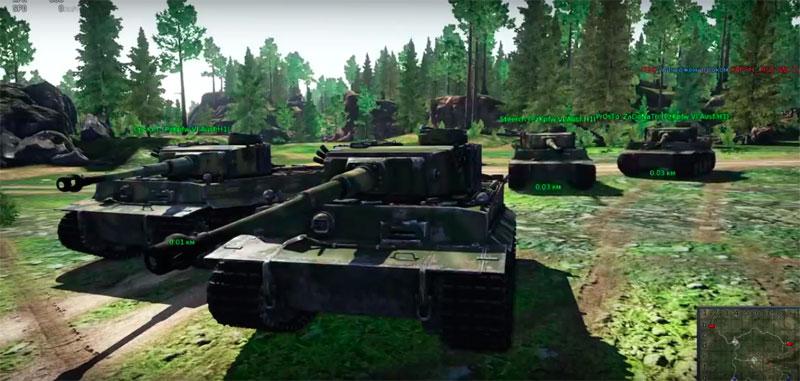 war thunder как быстро открыть танки