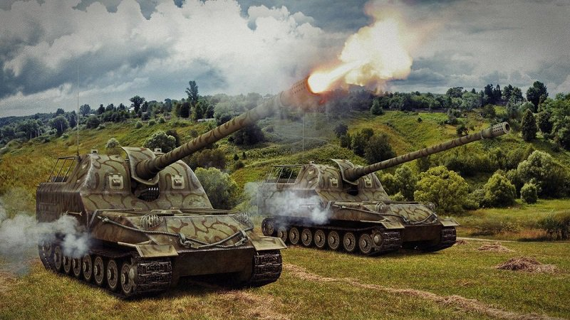 Арта в World of Tanks