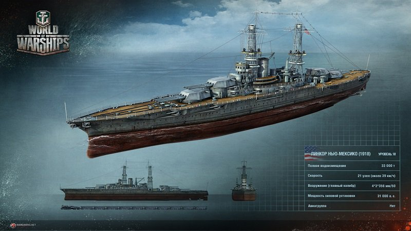 Гайд по линкорам в World of Warships